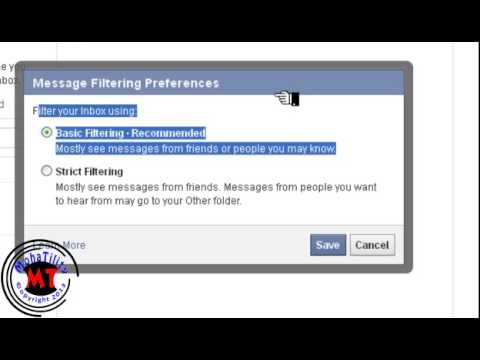getting messages from non-friends facebook