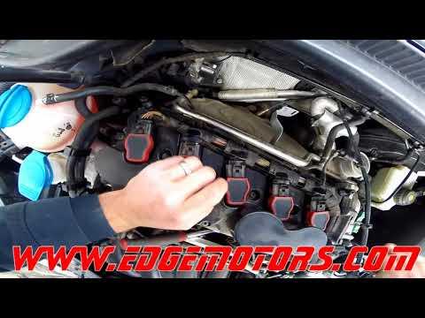 VW 2.5L Jetta Rabbit Golf Passat front oxygen sensor O2 lambda replacement DIY by Edge Motors