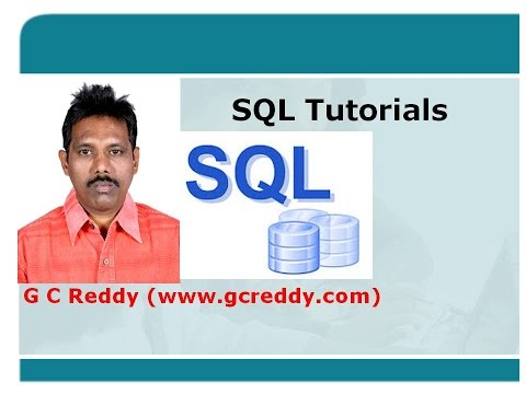 SQL Tutorial 1: Introduction to SQL