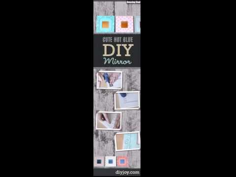 Cute DIY Crafts Ideas Mirror