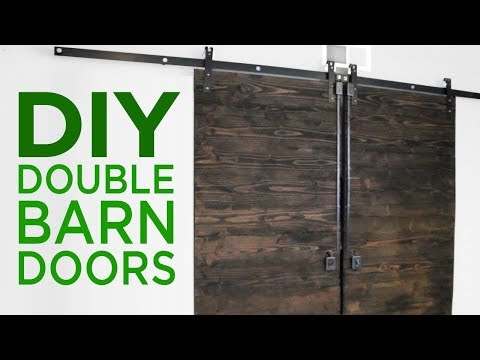 Rustic Double Barn Doors | 17 | The Cutting Bored