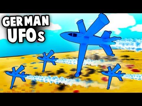 NEW Secret German UFO Jets! Free Demo UPDATE  (Total Tank Simulator Gameplay)