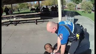 Man injures Grand Rapids police officer while resisting arrest in park
