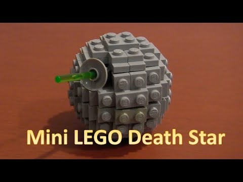 How To Build A LEGO Star Wars Mini Death Star Instructions