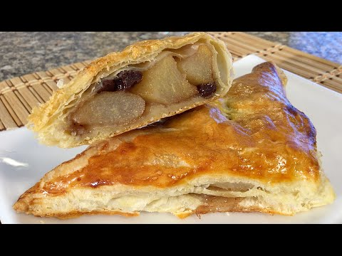 How To make Asian Pear Turnovers-Baking Comfort Food Recipes