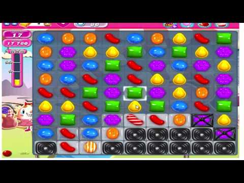 Candy Crush Saga Level 86 - No Boosters (with commentary)
