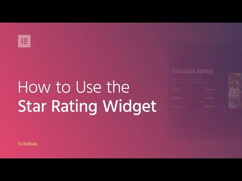 How to Add the Star Rating Widget to Your Wordpress Website