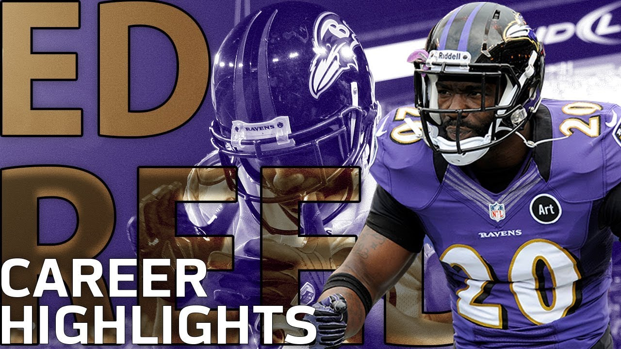 Ed Reed's Ridiculous Career Highlights: The Ultimate Ball Hawk   NFL Legends