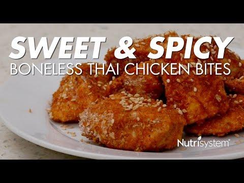 Sweet & Spicy Boneless Thai Chicken Bites
