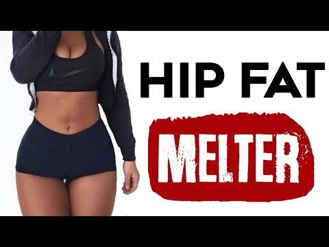 ❤️ How To Lose Hip Fat For Women | 4⚡️SUPER Charged Exercises To Lose Hip Fat Fast!