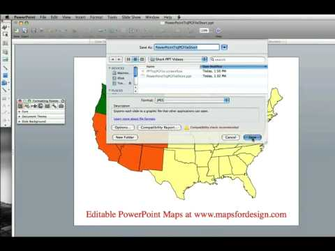 Converting PowerPoint Files to JPG files for Use on a Website