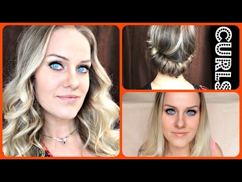 Easy HEATLESS Curls For Long Hair with Headband