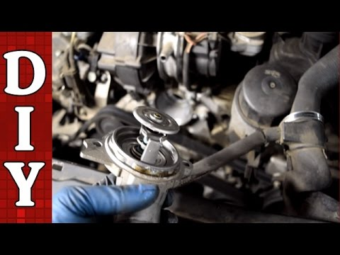 How to Replace the Thermostat - Mercedes Benz W203 C240 C320 E320 ML320 ML350 V6
