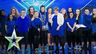 The DeafTones beautifully perform Ed Sheeran classic | Auditions Week 3 | Ireland's Got Talent 2018