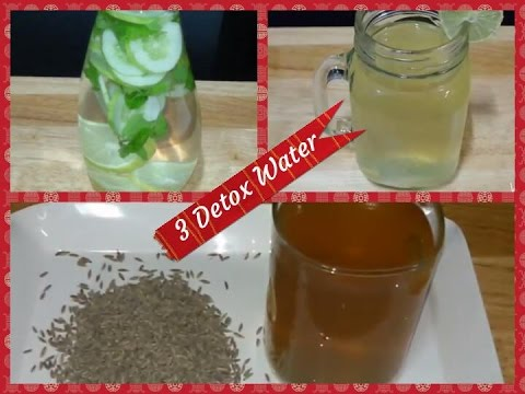 3 Detox Water for Fast Weight / Weight Loss Drinks/  Fat Cutter Drinks/Flat Tummy Drinks