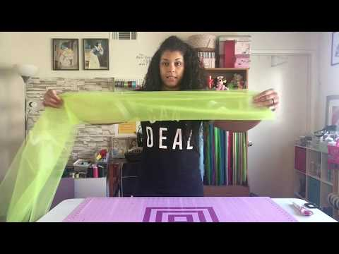 How To Cut Tulle By The Bolt For Tutus
