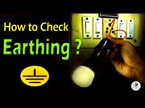 How to Check Earthing is Provided or Not with Test Lamp and Multimeter