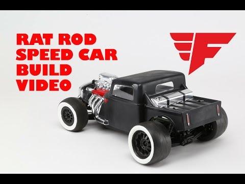 Force RC - Rat Rod Speed Car Build Video