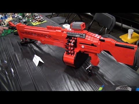 LEGO Halo and Destiny weapons – Brickworld Chicago 2015