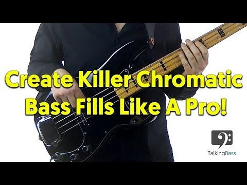 Create Killer Chromatic Bass Fills Like A Pro!