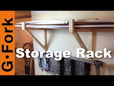 DIY Storage Racks for Garage or Basement - GardenFork