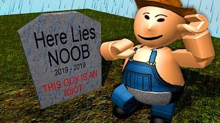 I interrupted this sad Roblox funeral