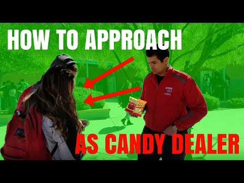 How To Approach People When Selling Candy At School ( How To Sell Candy At School ) Highschool Vlog