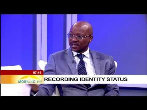 Recording identity status