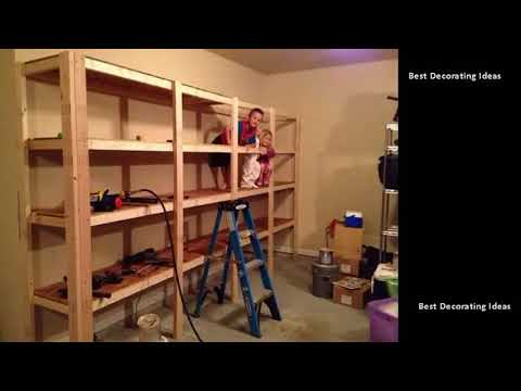 Garage Storage Shelves - Basement Garage Storage Shelves | Best & Easy tricks to Organize