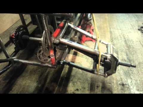 Dune buggy build rear suspension