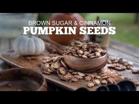 Pumpkin Seeds w/ Brown Sugar & Cinnamon