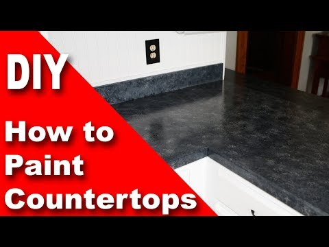 How To Paint A Countertop - With Giani Granite