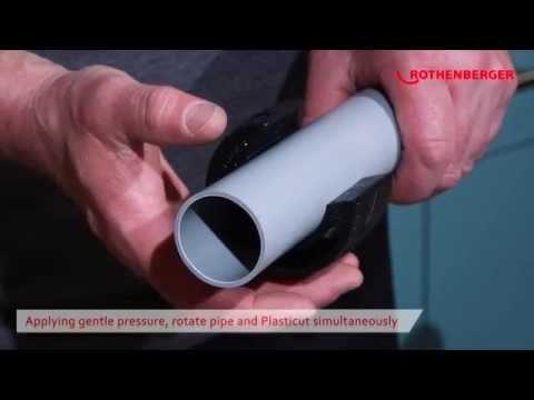 PLASTICUT Plastic Waste Pipe Cutter 11/4