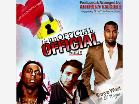 Kanye West - Love Lockdown Remix Feat. Lil Wayne~*~facebook/anthonyfalconemusic~*~Anthony Falcone