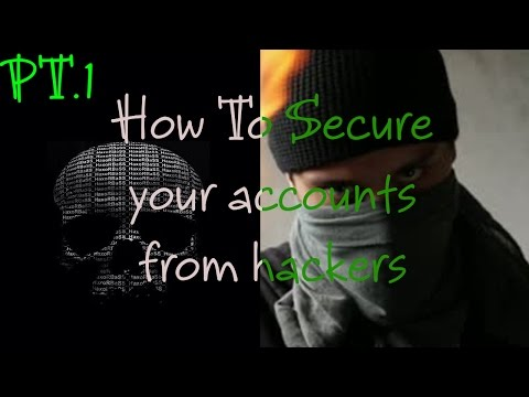 [1/3] How to Secure emails and (Twitter) Accounts from Hackers