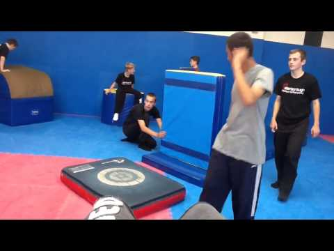 First day of parkour training part 1