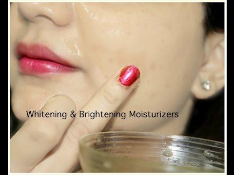 4 Instant Healthy Whitening & Brightening Moisturizers | Get Shiny Plump Skin