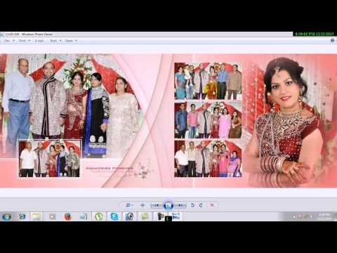 How To Design Wedding Dvd Cover In Photoshop