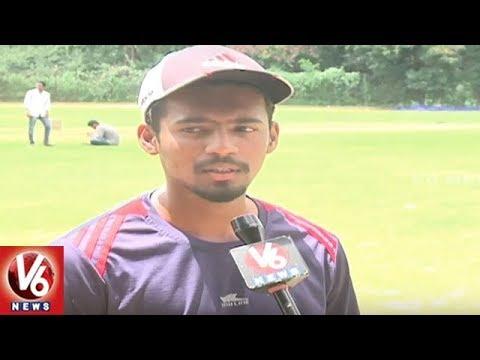 Hyderabad Team Won Buchi Babu Cricket Tournament | V6 News