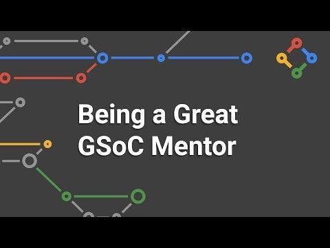 Being a Great Google Summer of Code Mentor