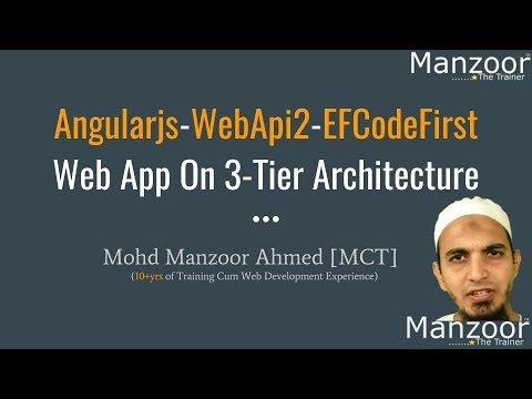 Creating ASP.Net Web API (AngularJS Live Project - Part 9)