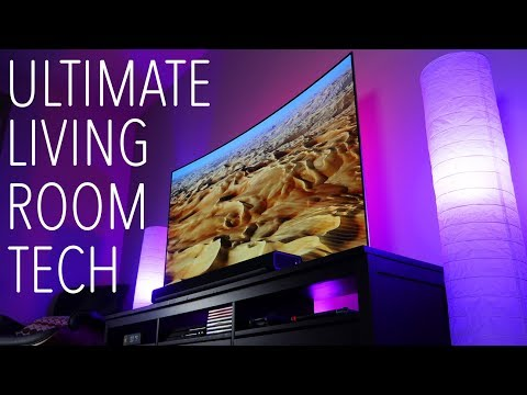 AWESOME 4K TV Gaming Setup & Tour! 2018