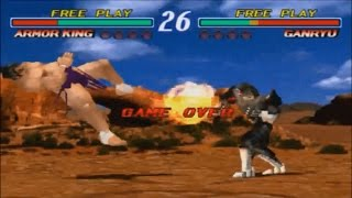 鉄拳 Tekken 2 Ver  B - Attract Mode (Arcade) - PakVim net HD