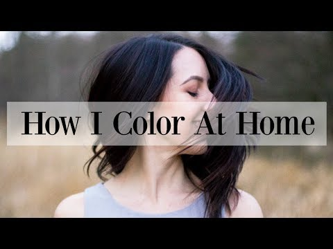 How I Color My Hair at Home