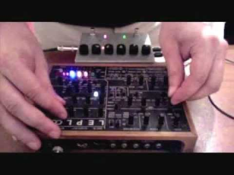 KiNK in the lab with Leploop and Memory Man with Hazari