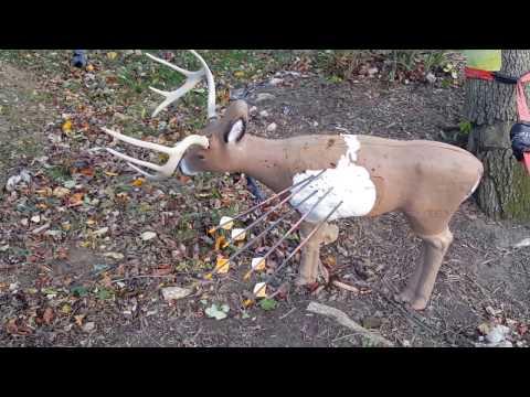 3D Archery Target Deer Repair with LocTite Home Insulation Foam - Easy Repair!