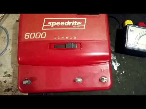 Speedrite 6000 Electric Fence Energizer