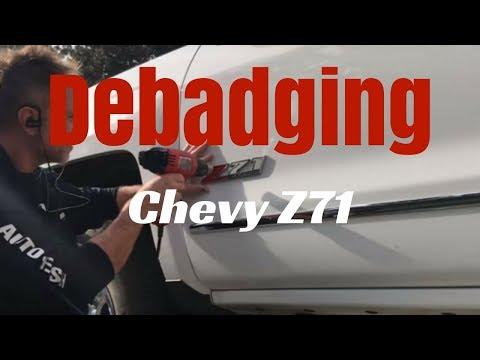 Debadging: Chevy Z71