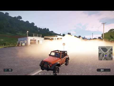 Towing a car glitch