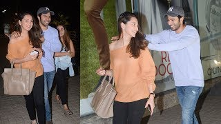 Varun Dhawan CAUGHT Flirting With Girlfriend Natasha Dalal & Her Friend At Juh PVR